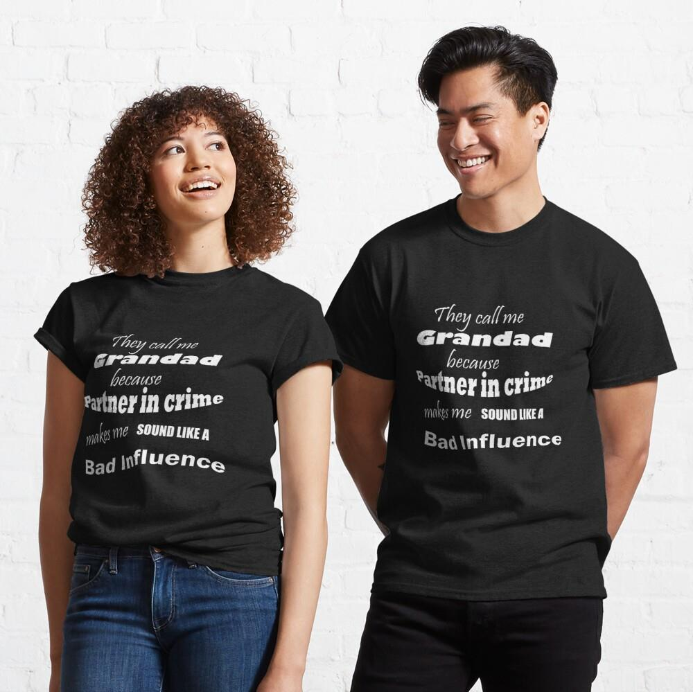 They call me Grandad Father's Day Shirt